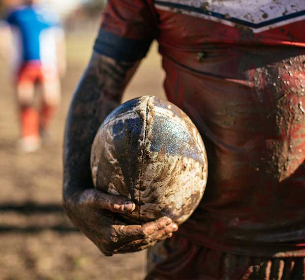 Get athletic training coverage for rugby