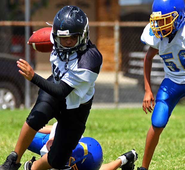 Get coverage for youth football
